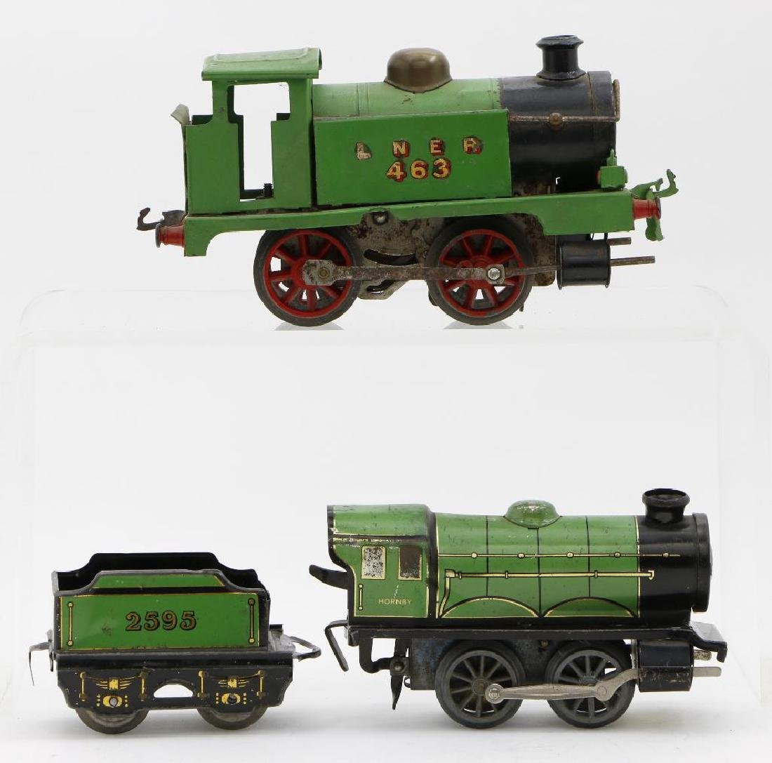 Hornby 0 Gauge English Profile Locomotive Grouping