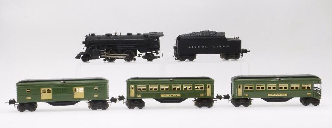 Lionel O Gauge Passenger Set