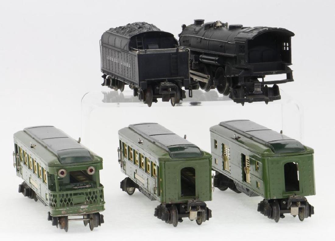 Lionel O Gauge Passenger Set - 4
