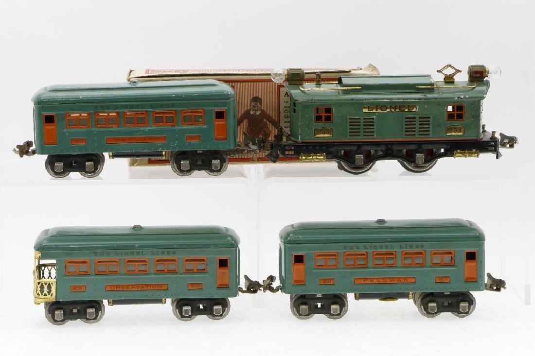 Lionel 0 Gauge Passenger Set