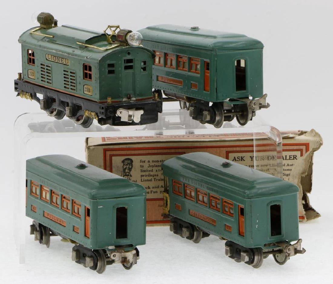 Lionel 0 Gauge Passenger Set - 3
