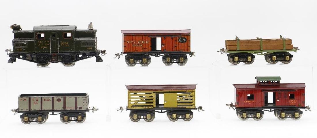 Ives O Gauge Freight Set