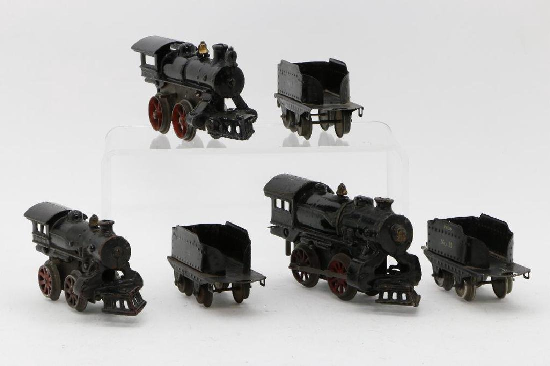Ives O Gauge Locomotive and Tender Grouping - 3