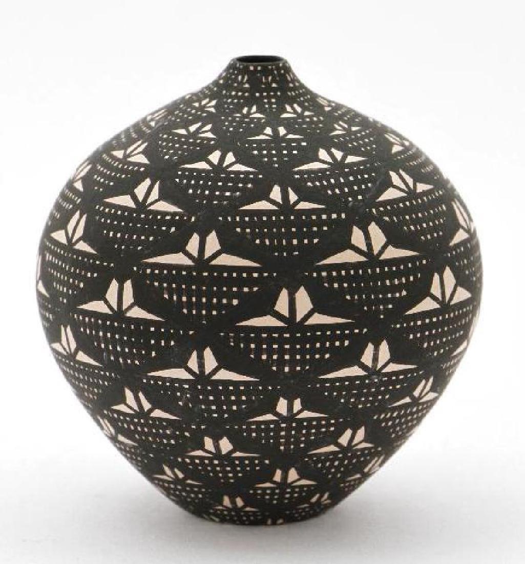 Acoma miniature pottery seed jar - 2