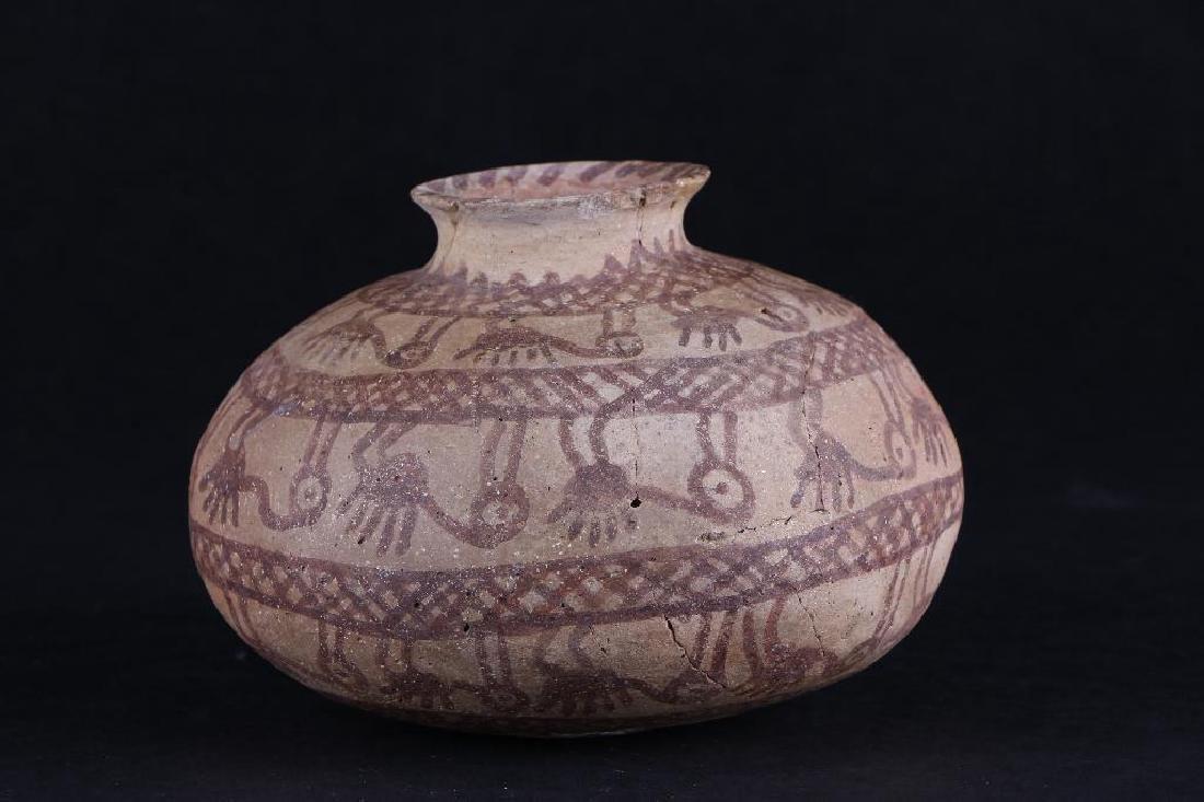 Hohokam pottery jar - 4