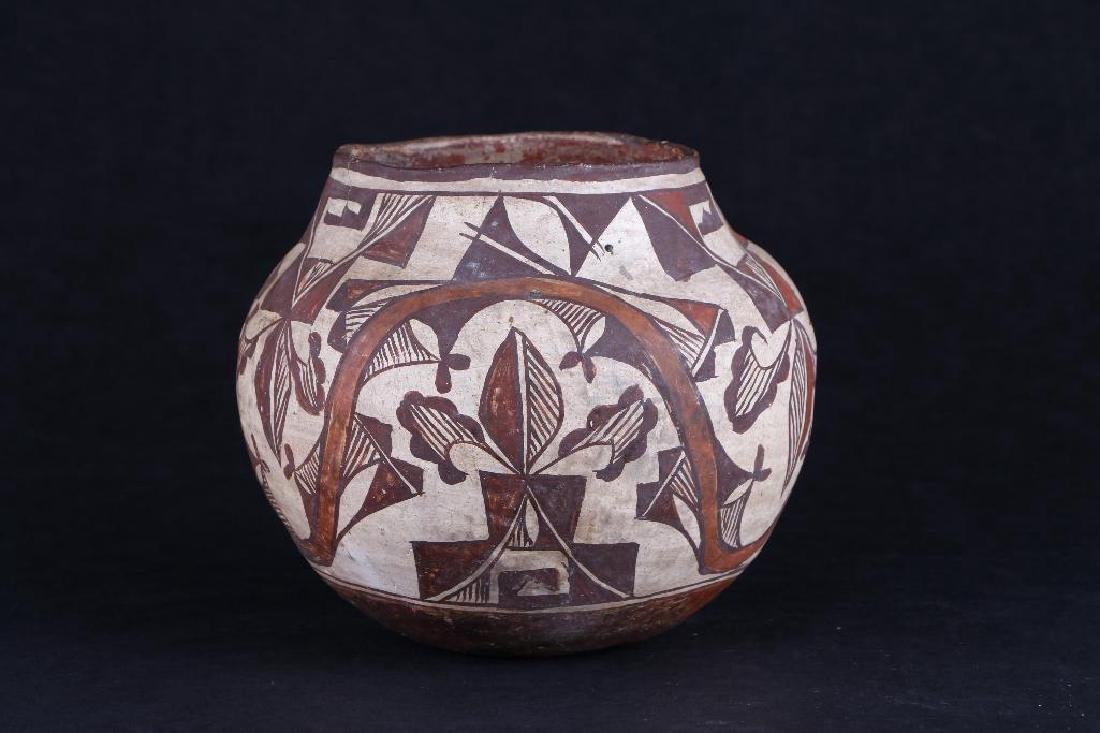 Acoma polychrome pottery jar - 2