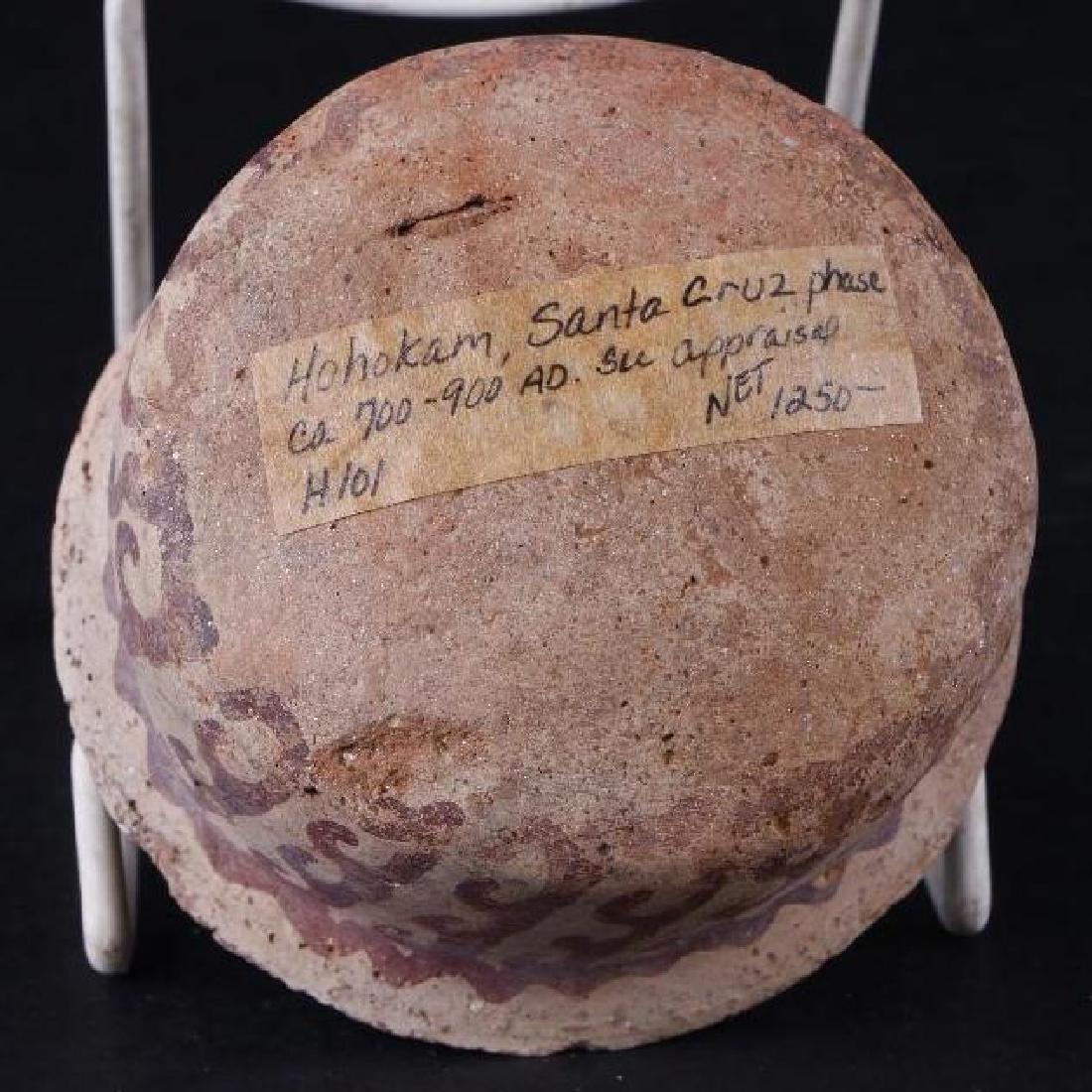 Hohokam pottery bowl - 5