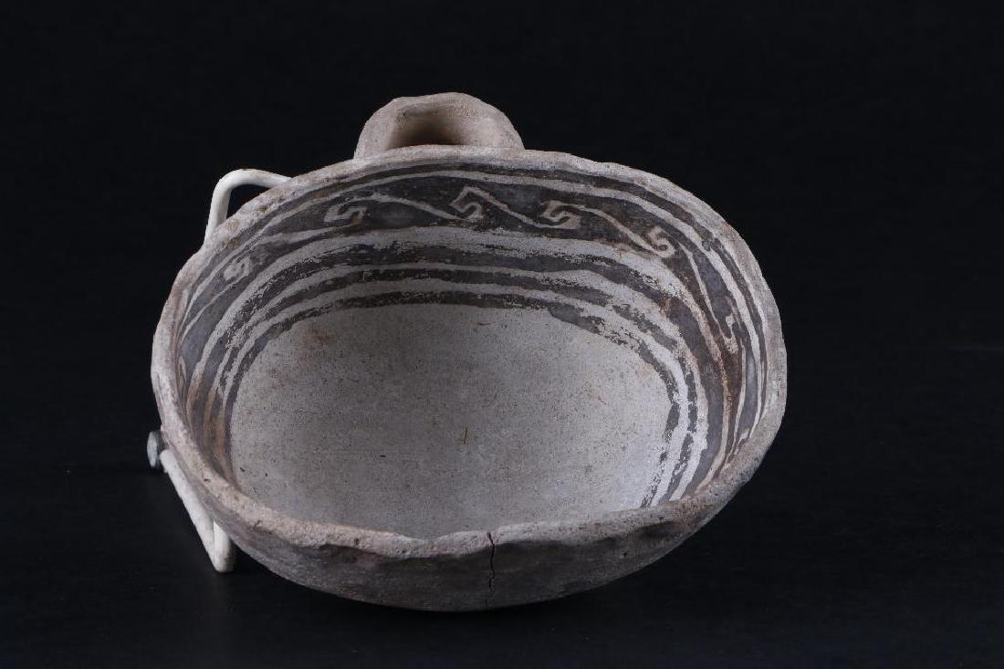 Anasazi black-on-white ladle