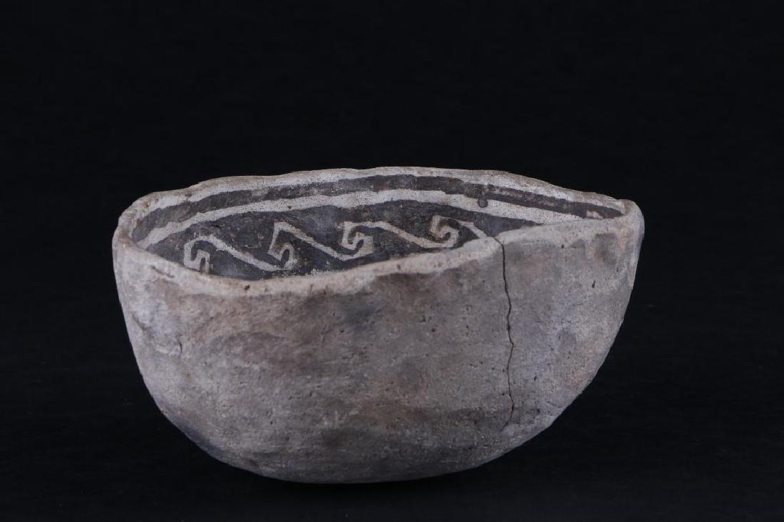 Anasazi black-on-white ladle - 3