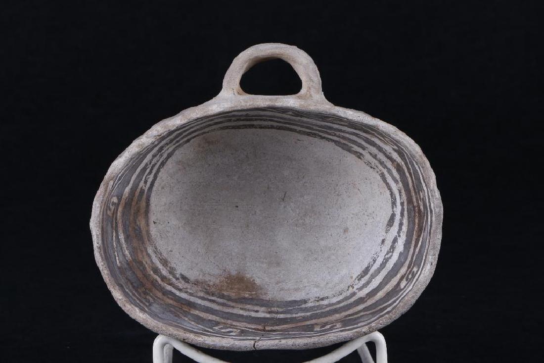 Anasazi black-on-white ladle - 5
