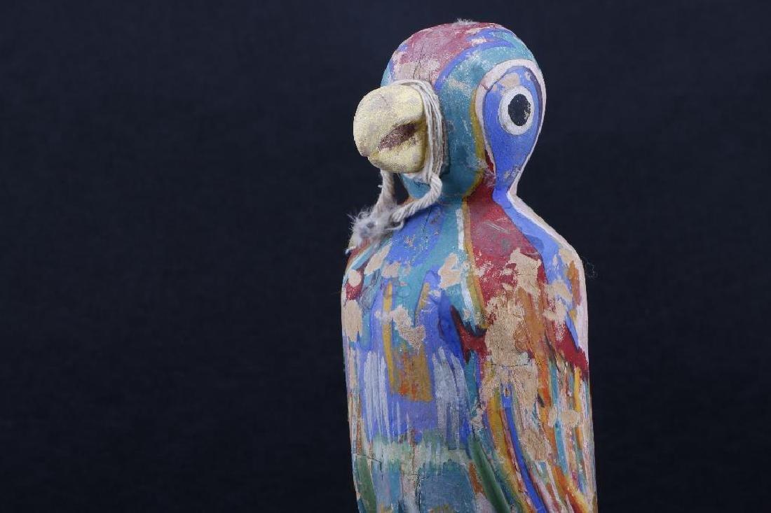 Two Hopi wood bird effigies - 4
