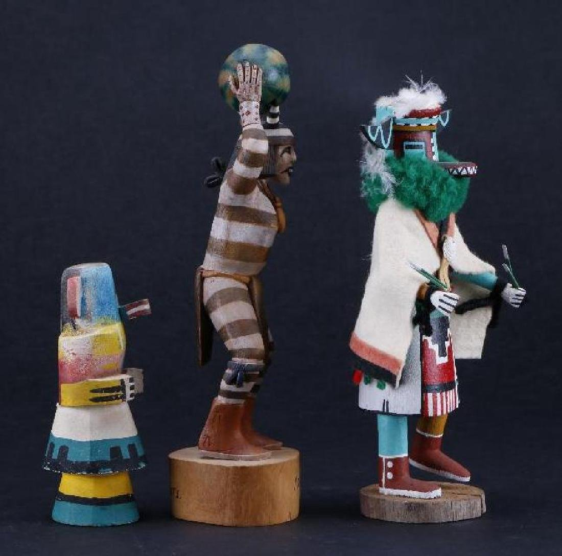 Three Hopi katsina dolls - 2