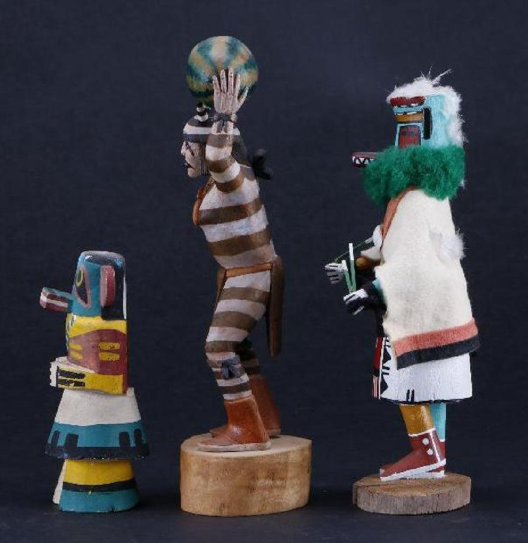 Three Hopi katsina dolls - 4