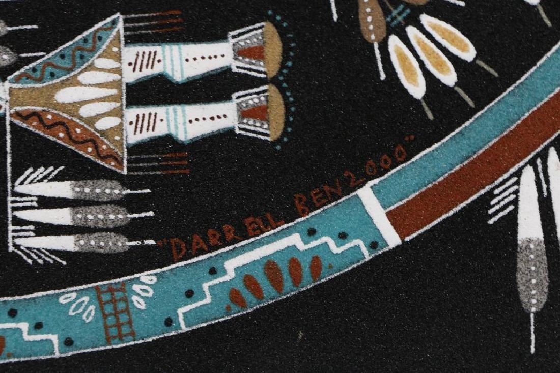 Navajo sandpainting - 3