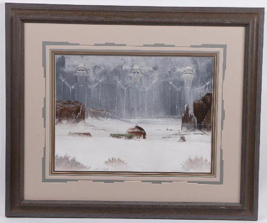 Harvey Begaye (War Eagle) painting