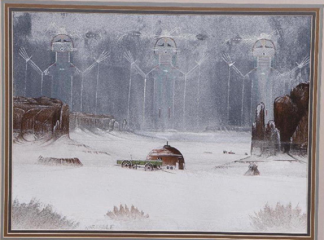 Harvey Begaye (War Eagle) painting - 2