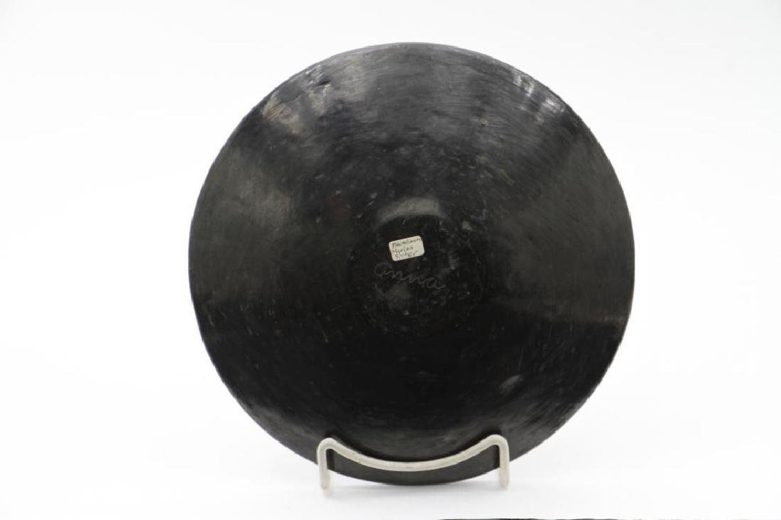 San Ildefonso blackware plate - 2