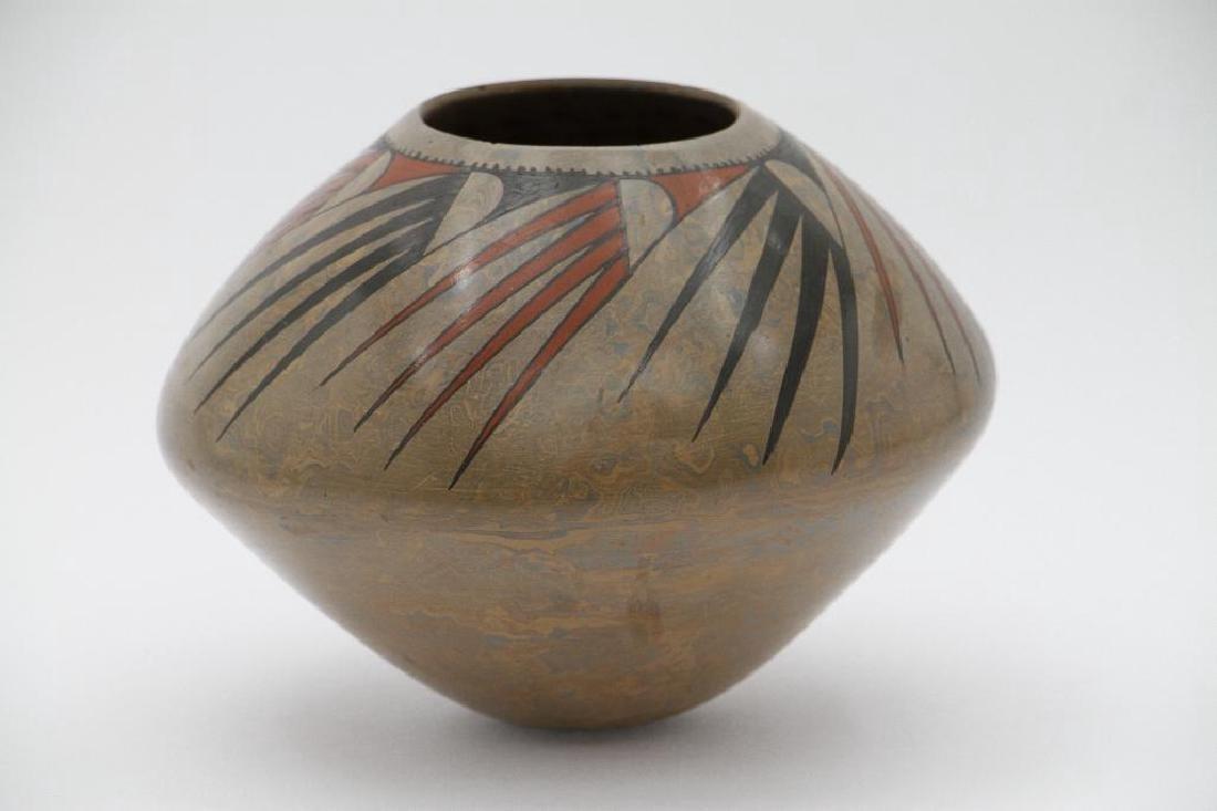 Casas Grandes polychrome pottery jar - 3