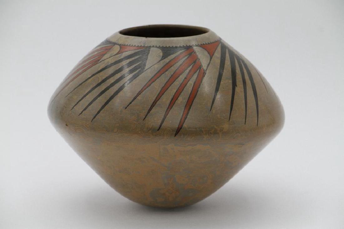 Casas Grandes polychrome pottery jar - 5