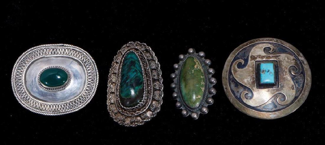 SOUTHWEST TURQUOISE &  SILVER JEWELRY