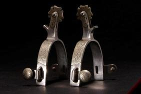 PAIR OF MEXICAN SPURS