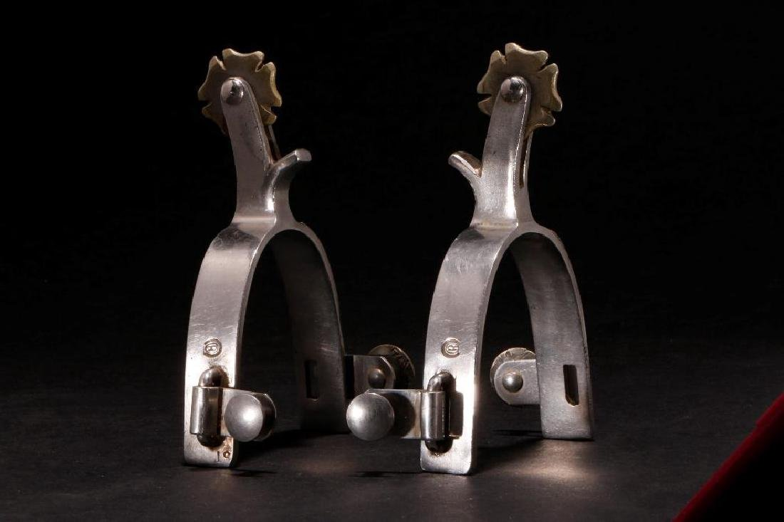 PAIR OF MEXICAN SPURS - 2