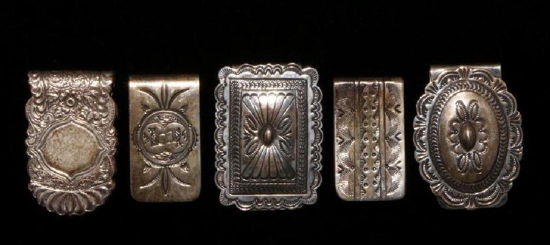 SOUTHWEST SILVER MONEY CLIPS