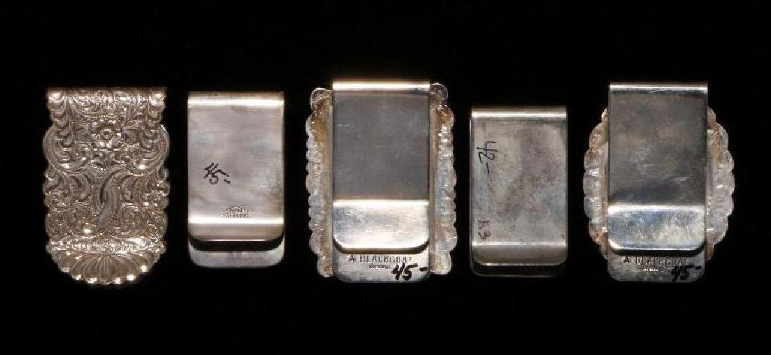 SOUTHWEST SILVER MONEY CLIPS - 2