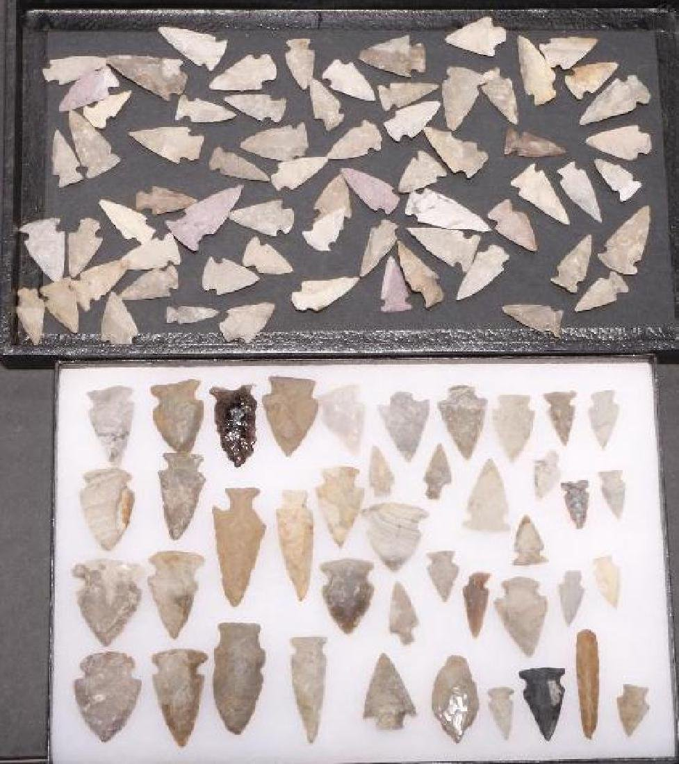 NATIVE AMERICAN STONE POINTS