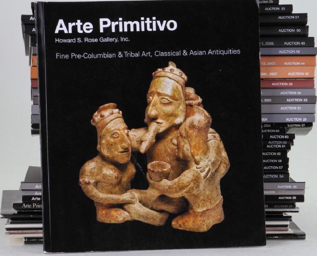 Thirty-five Arte Primitivo Pre-Columbian, Tribal, Class