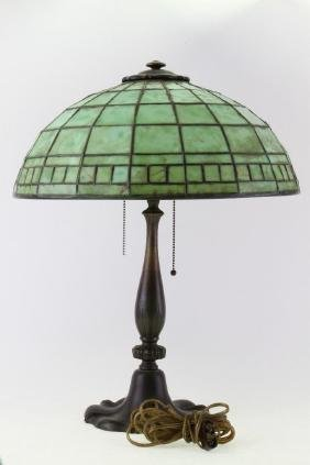 TIFFANY STUDIOS FAVRILE GLASS SHADE #1901