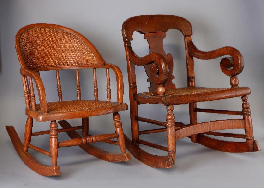 2 AMERICAN CHILD'S ROCKING CHAIRS