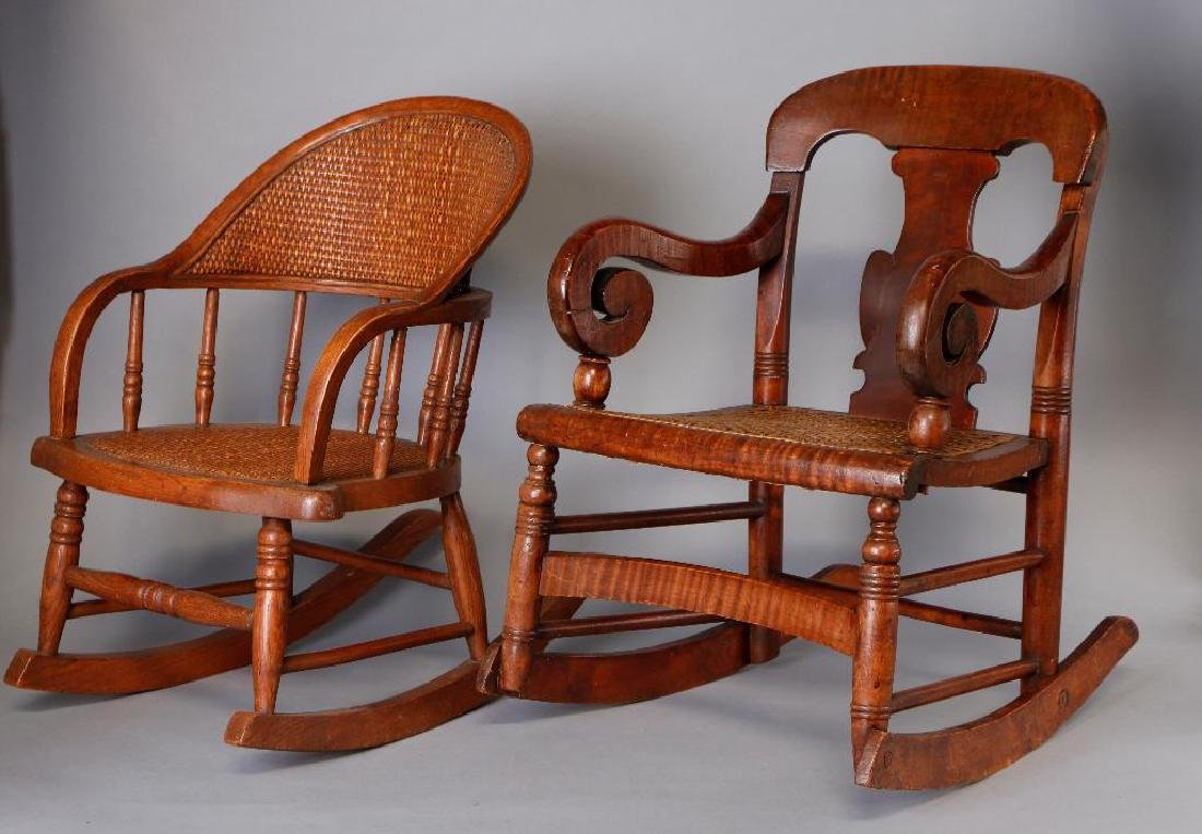 2 AMERICAN CHILD'S ROCKING CHAIRS - 2