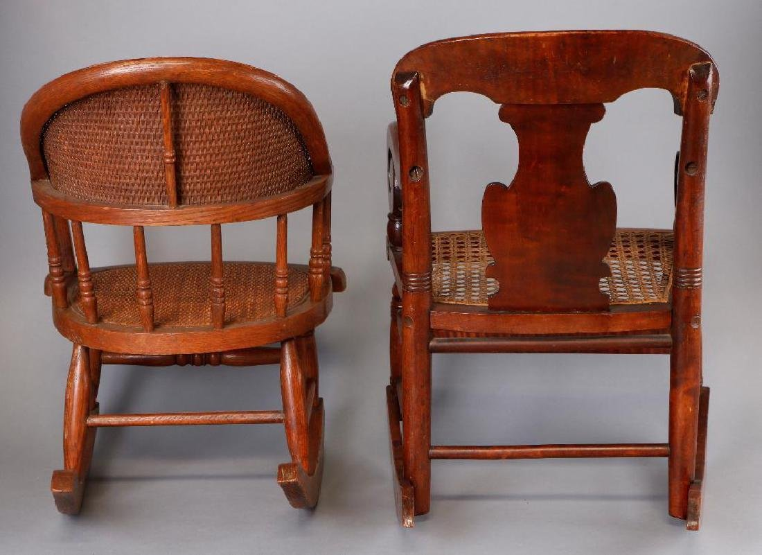 2 AMERICAN CHILD'S ROCKING CHAIRS - 3