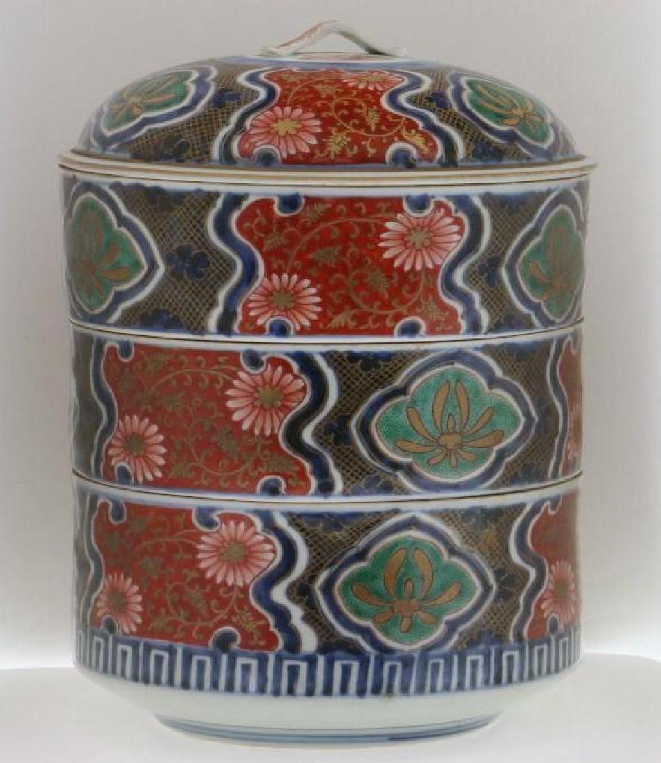JAPANESE IMARI BOX