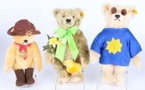 THREE STEIFF THEME BEARS