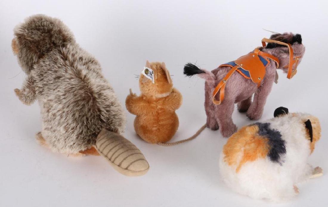 FOUR STEIFF ANIMALS - 2