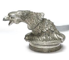 PEERLESS 'EAGLE'S HEAD' MASCOT, 1927
