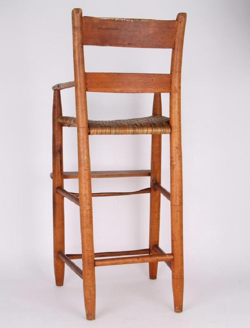 AMERICAN COUNTRY HICKORY CHILD'S HIGH CHAIR - 3