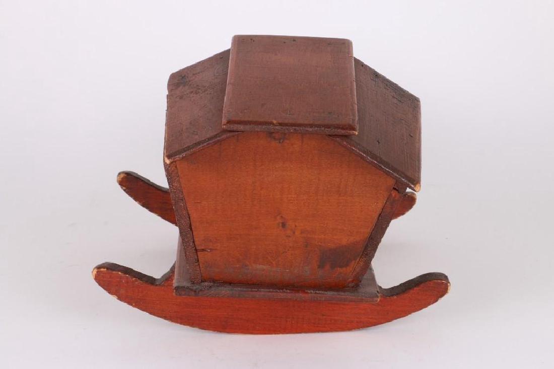 PINE DOLL'S CRADLE, JOHN W. SIMISTER, WARREN, RI. 1920 - 4