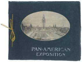 1901 PAN-AMERICAN EXPO. PHOTO BOOKLET BY A. WITTEMANN