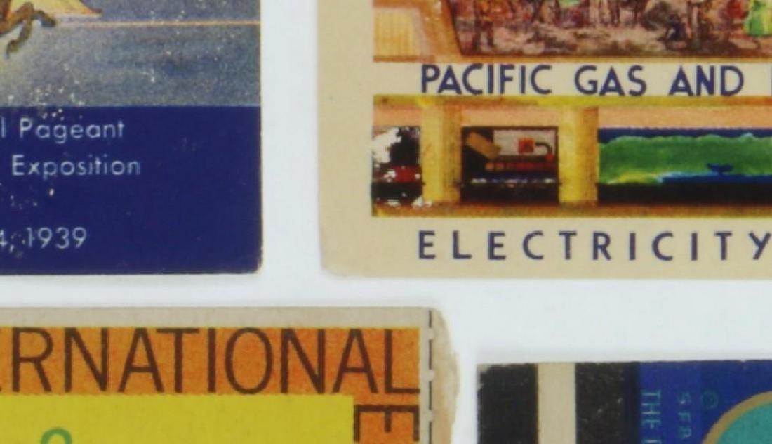 1939 GOLDEN GATE INTERNATIONAL EXPOSITION TICKET ALONG - 2