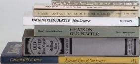 COLLECTION OF BOOKS ON MOLDS AND PEWTER