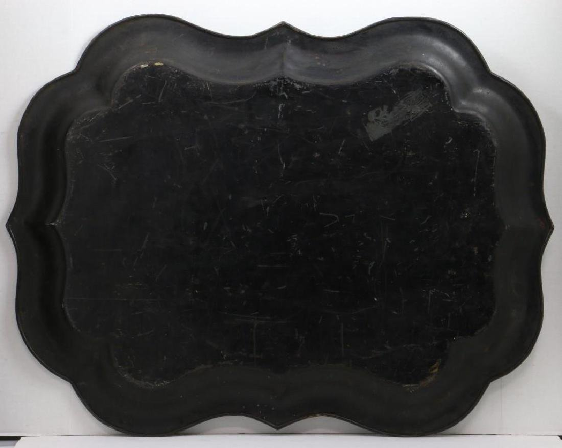 A PAINTED TOLE TRAY, 19TH CENTURY - 2