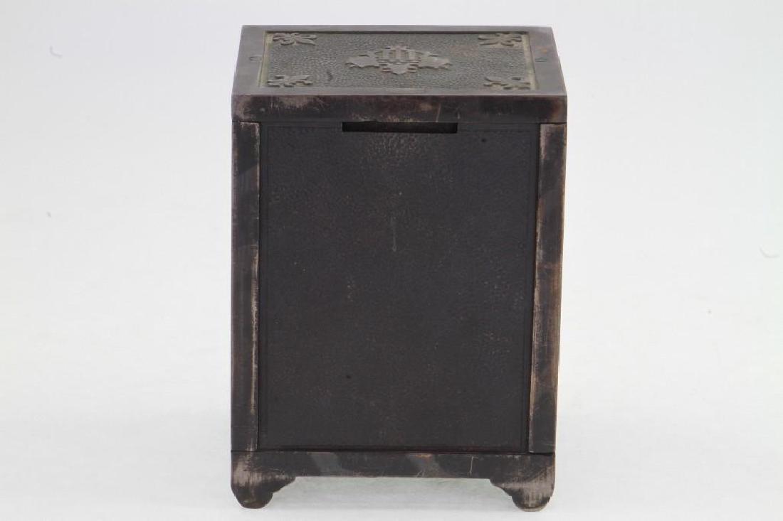 Cast Iron Still Bank - 3