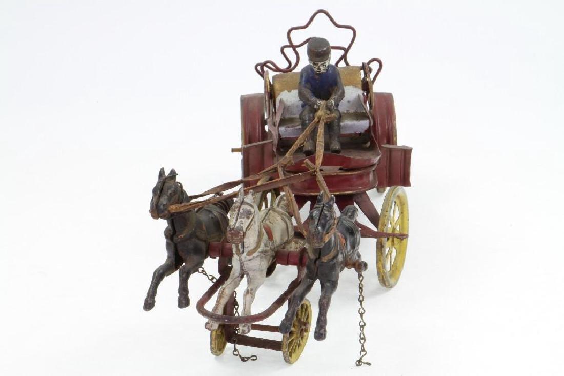 Horse Drawn Ladder Wagon - 3