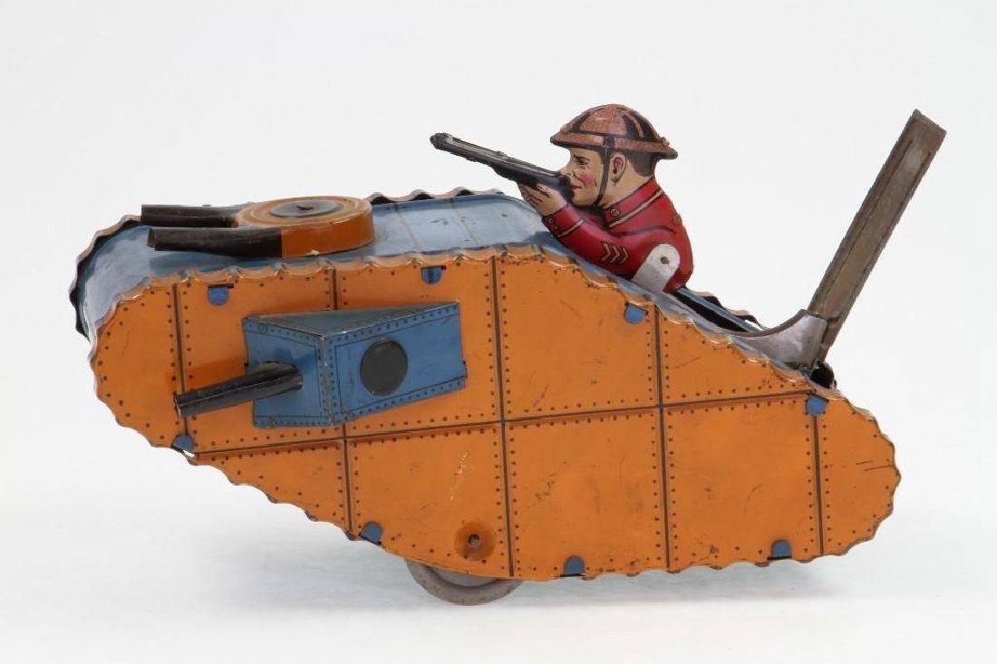 WWI Type Tank, Marx