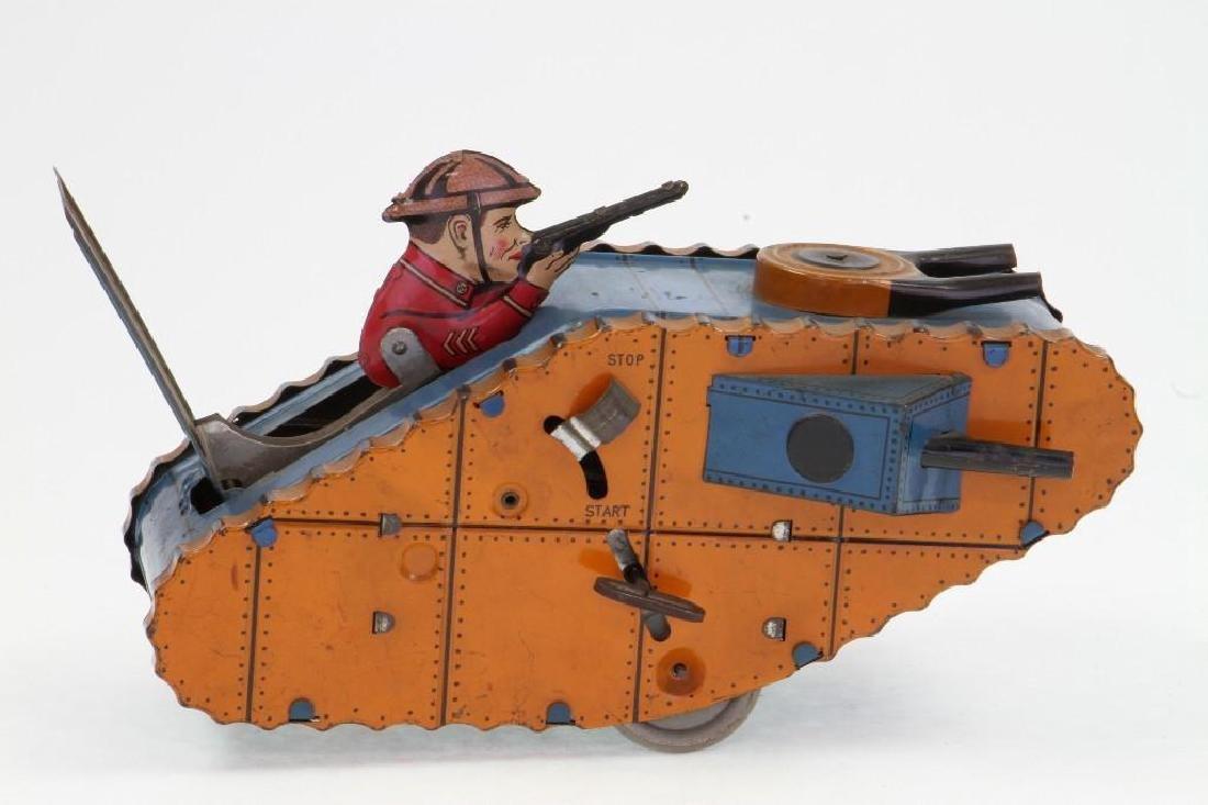 WWI Type Tank, Marx - 3