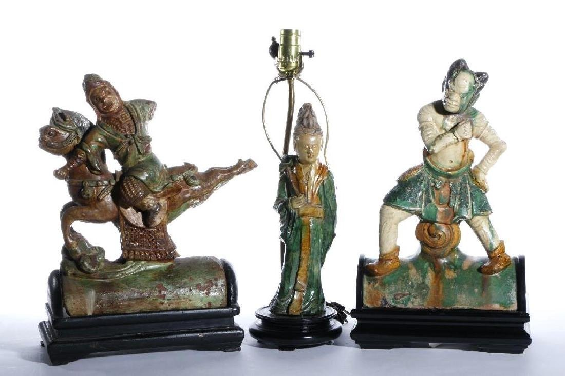 CHINESE TILE FIGURES