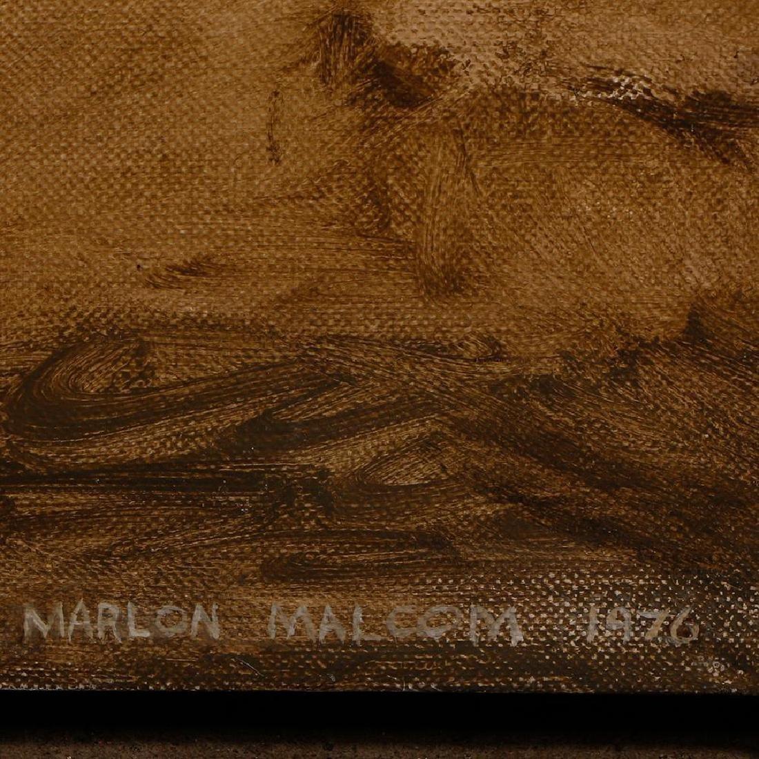 Marlon Malcom (20th/21st century) - 2